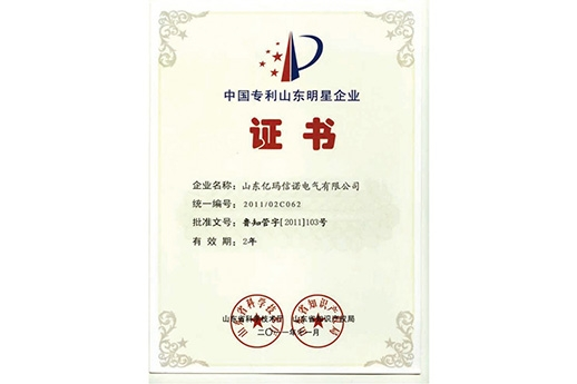 China patent shandong star enterprise